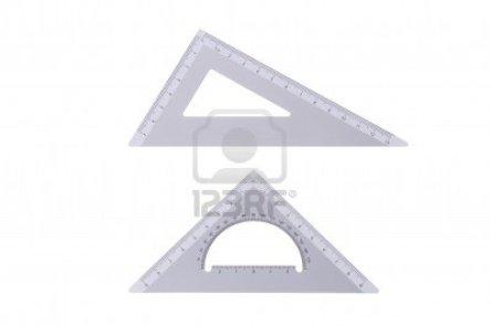 10865777-dos-triangulos-de-metal-profesional-redaccion-aislados